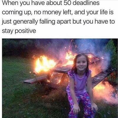 student life meme