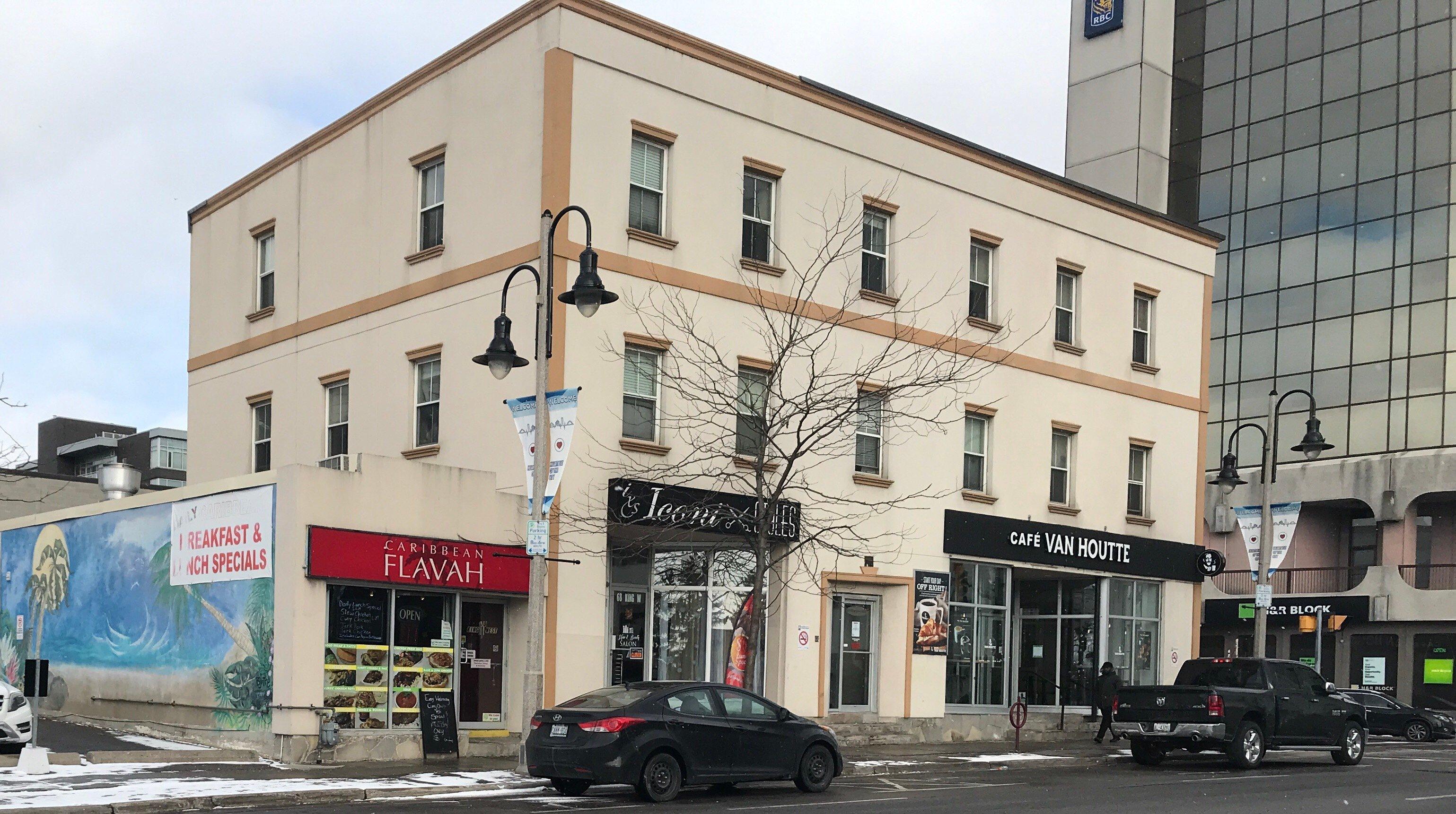 Building in downtown Oshawa