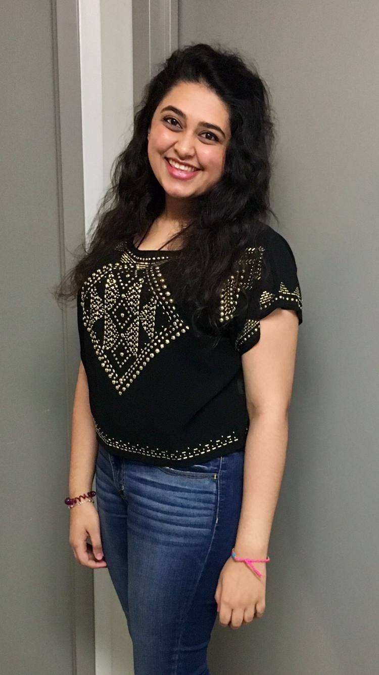 Student Speak Blogger Disha Melwani