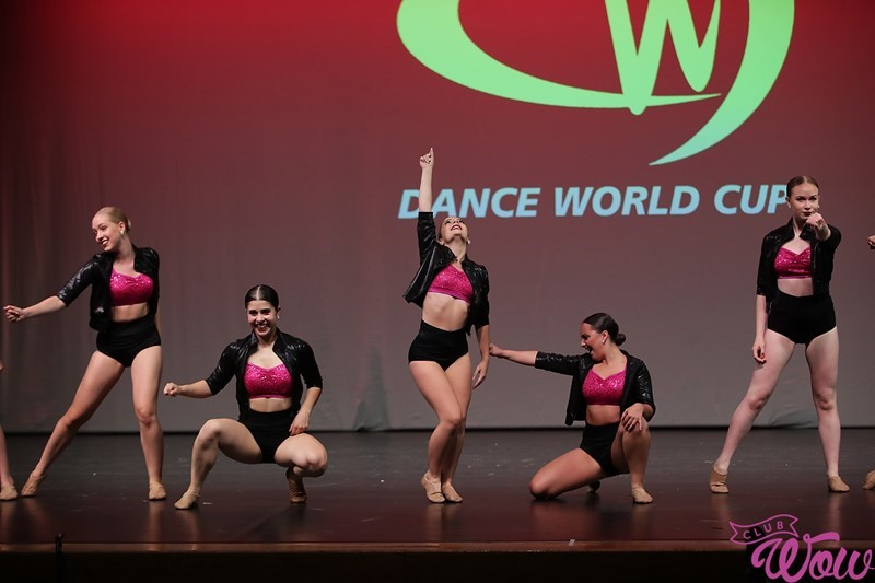 Dance world cup group dance photo