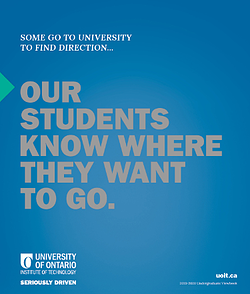 UOIT Viewbook Cover 2018/2019