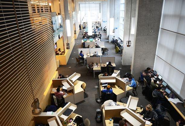 Ontario Tech library view