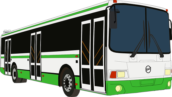 Drawing of a bus